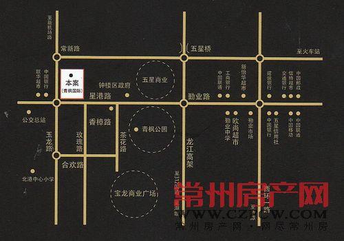 青枫国际位置图