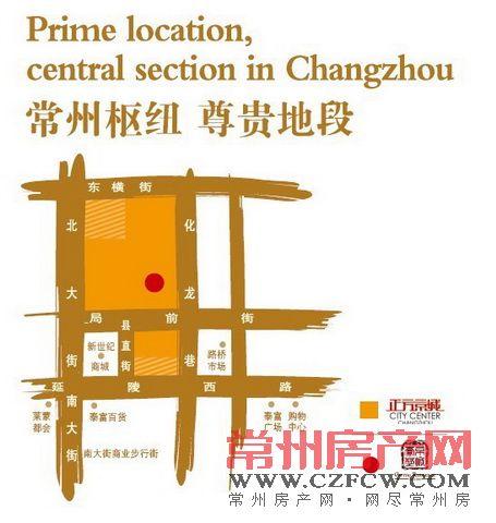京城豪苑位置图
