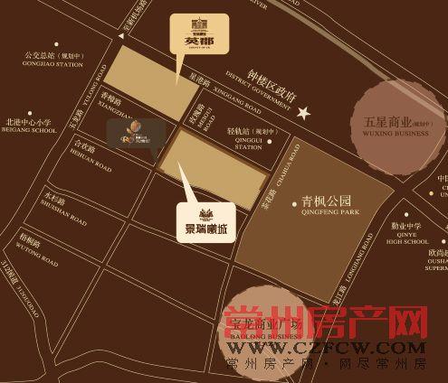景瑞曦城位置图