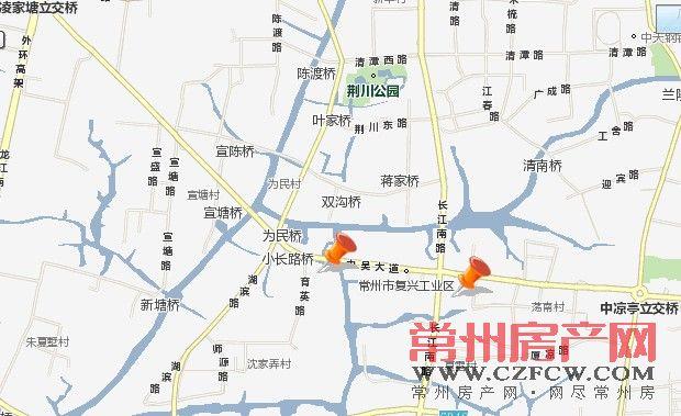 复兴村位置图