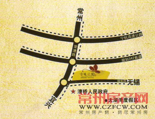 香堤花园位置图