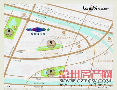 龙湖龙誉城位置图