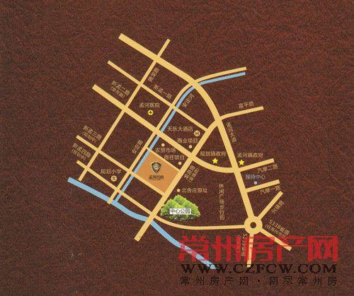 孟河首府位置图