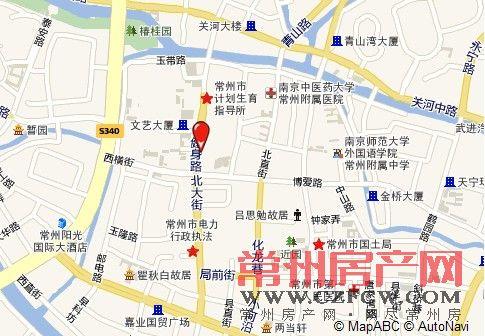 置信商务广场位置图