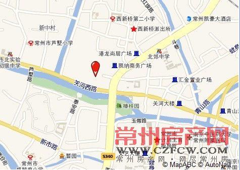 尚郡100院位置图