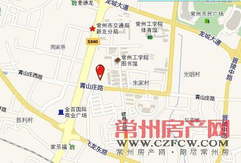 清枫华景园位置图