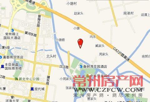 香树湾云景位置图