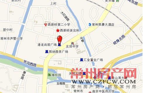 港龙中港城位置图