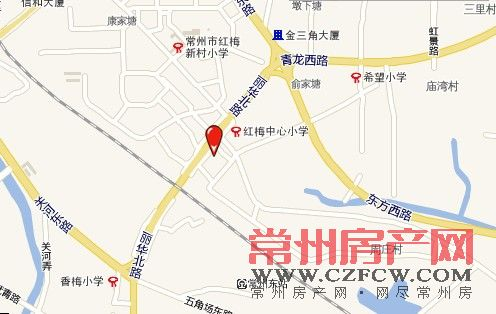 东方尚院位置图