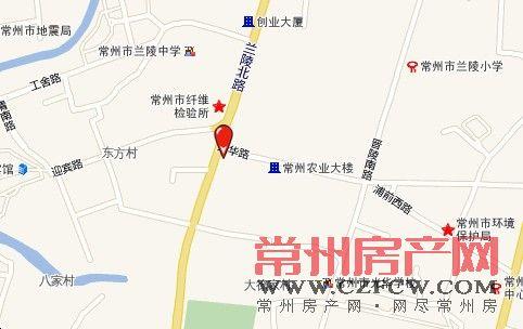 兰庭黄金城道位置图