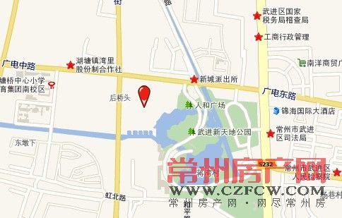 地壹街位置图