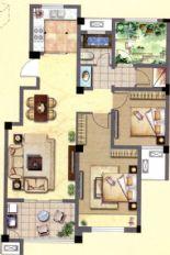 金色领寓户型图