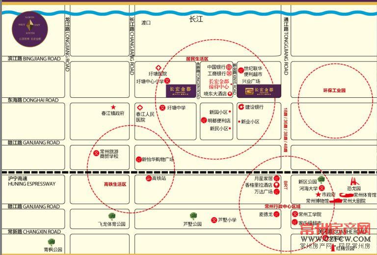 长宏金郡位置图