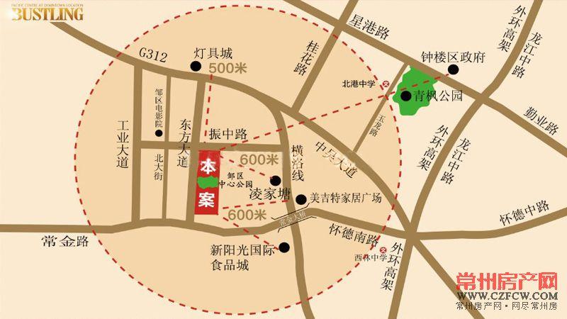 泰富时代广场位置图