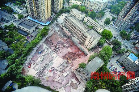 厂区遗址将打造成重庆798创意街区
