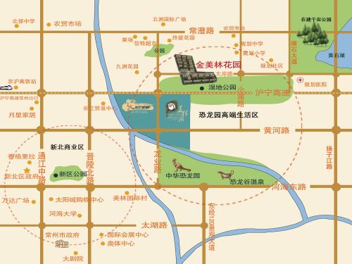 金美林花园位置图