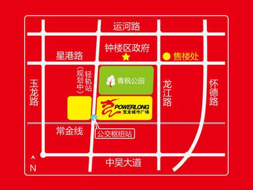 宝龙广场位置图