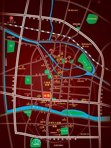 富邦广场・常州华强电子世界位置图