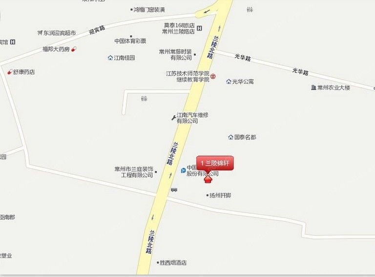 兰陵锦轩位置图