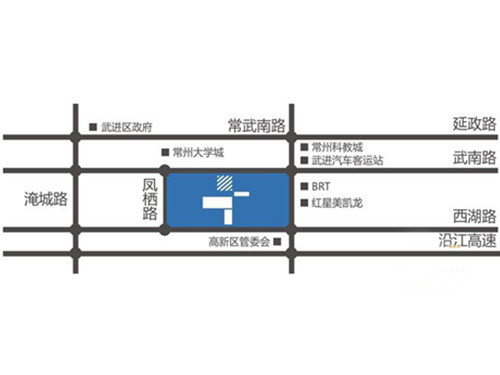 天安尚城位置图