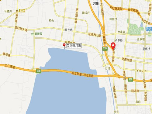 星河澜月湾位置图