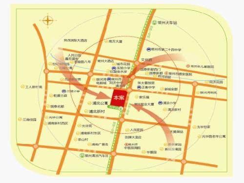 同济桥万都广场位置图