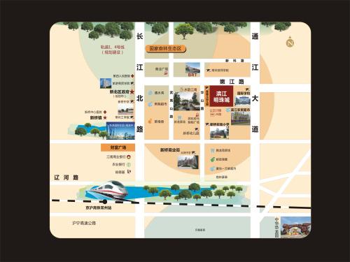 滨江明珠城位置图
