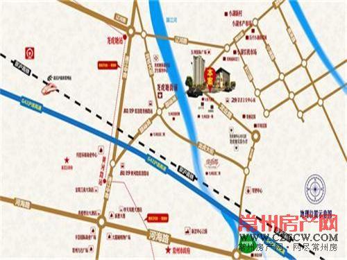 道成广场位置图