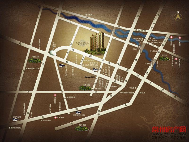 城置御水华庭位置图