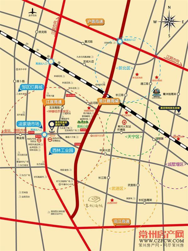 美吉特・家博城位置图