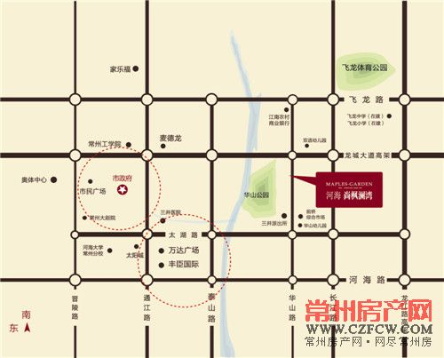 尚枫澜湾位置图