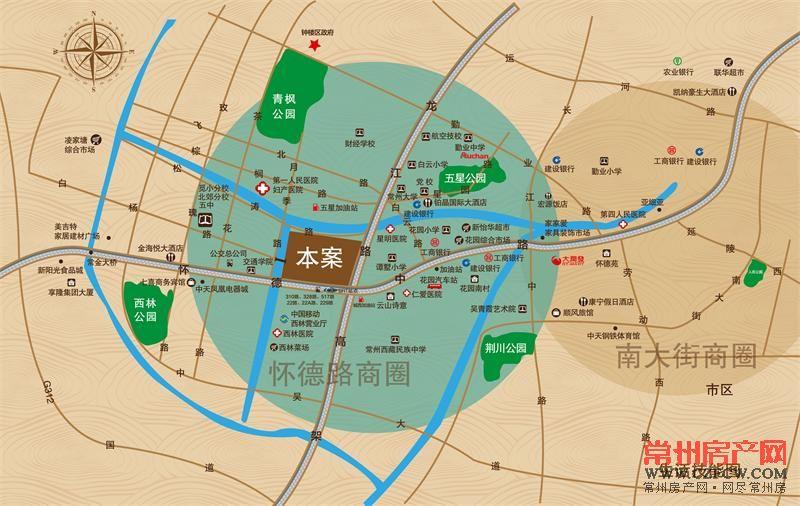万泰国际广场位置图