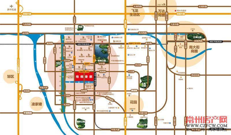 梧桐香郡东樾位置图