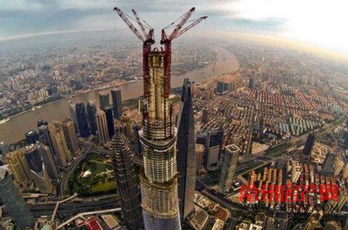 最高十楼一半在中国 清一色写字楼加酒店