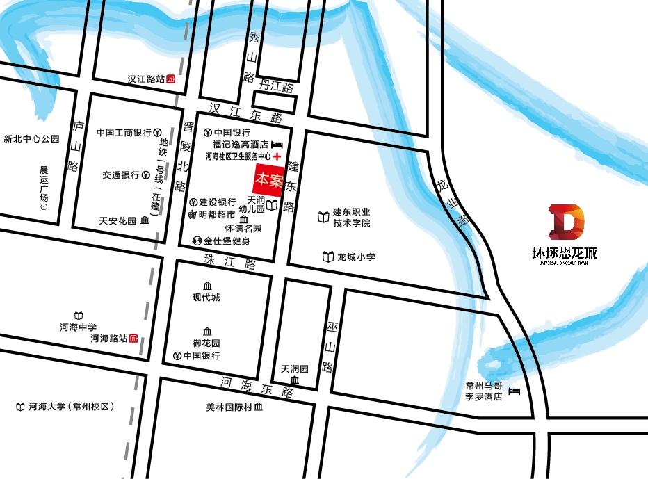 新名园位置图