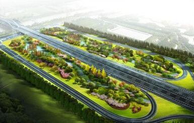 青洋路南环线互通将建生态湿地 面积6万余平方米