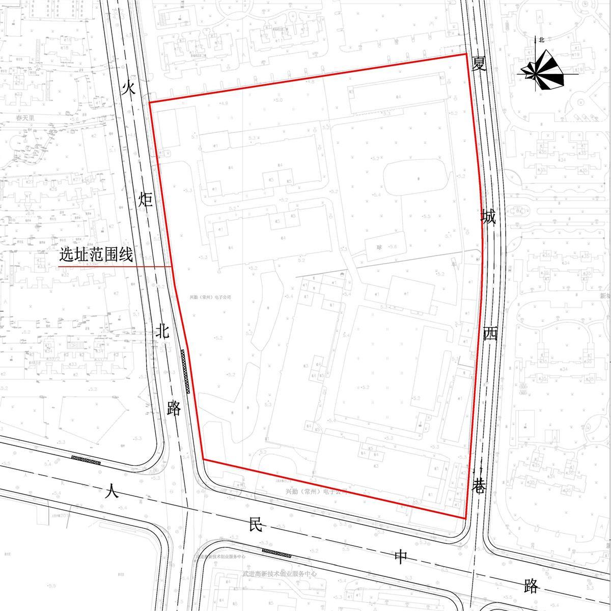 常州规划局公示:武进人民路初级中学项目选址、武进花园小学改扩建二期工程项目