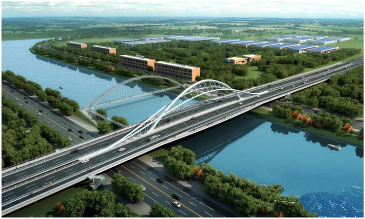 星港大道向西延伸到奔牛 工程设计方案已完成