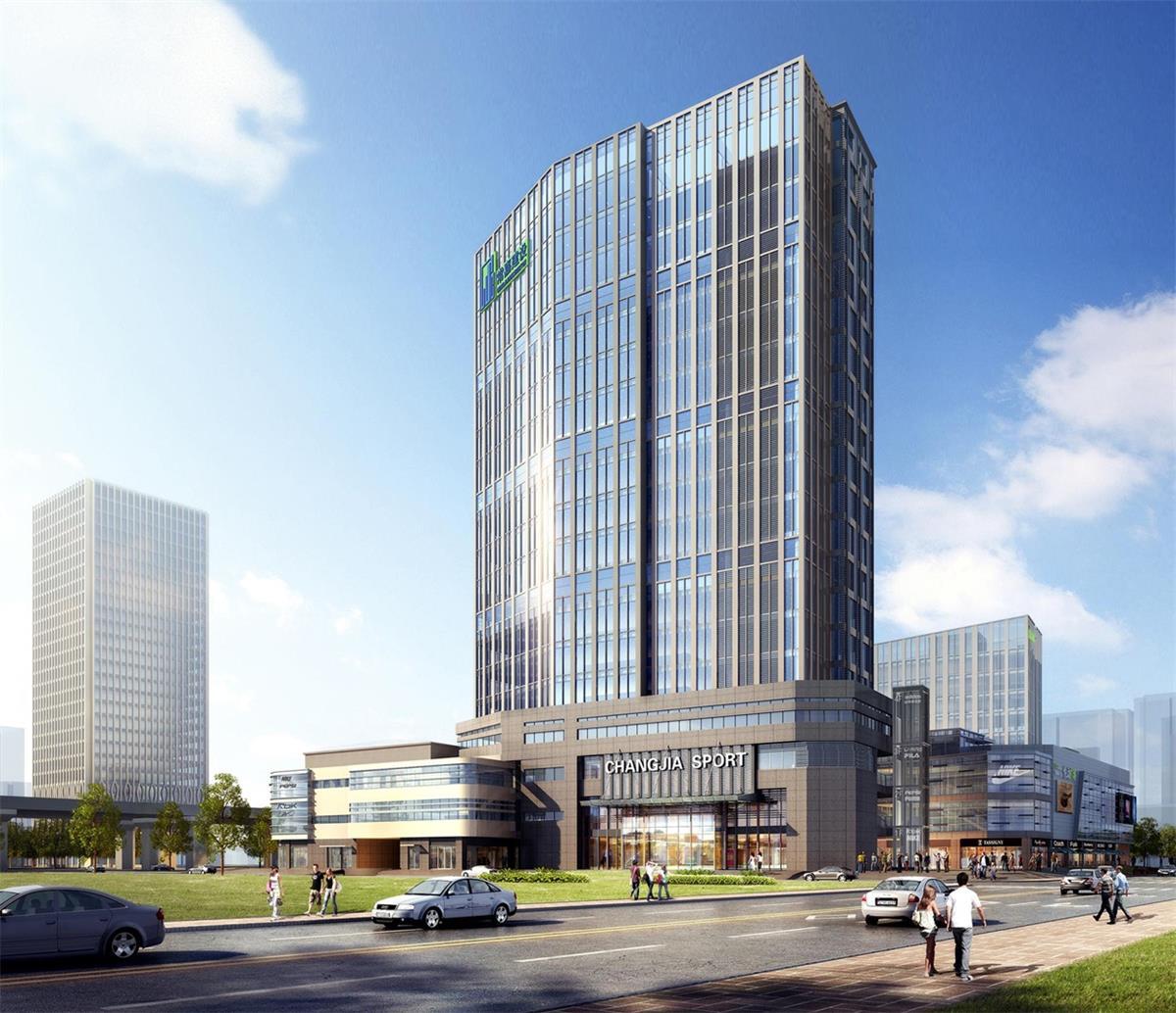 广信悦动广场建设工程批前设计方案出炉