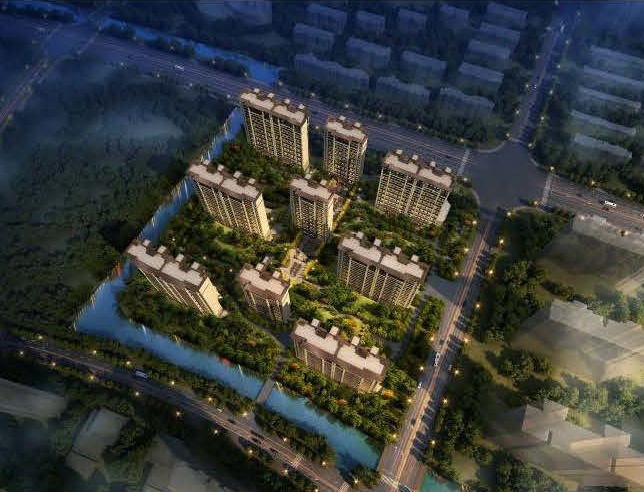 龙湖飞龙地块规划出炉 将建9栋高层住宅