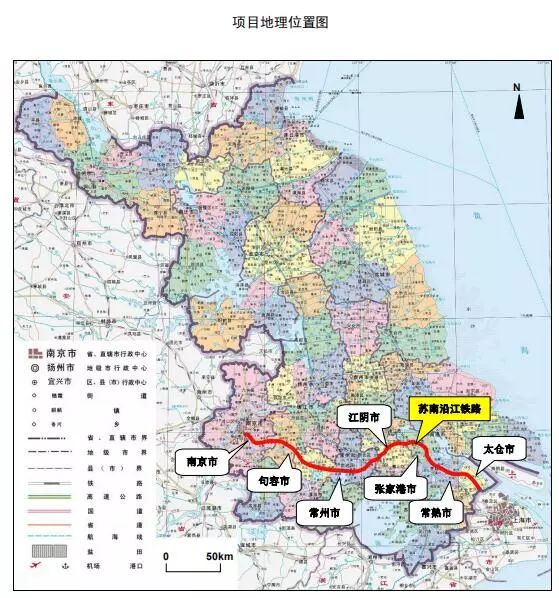 投资估算517.8亿!苏南沿江铁路年内开工 金坛、武进均设站