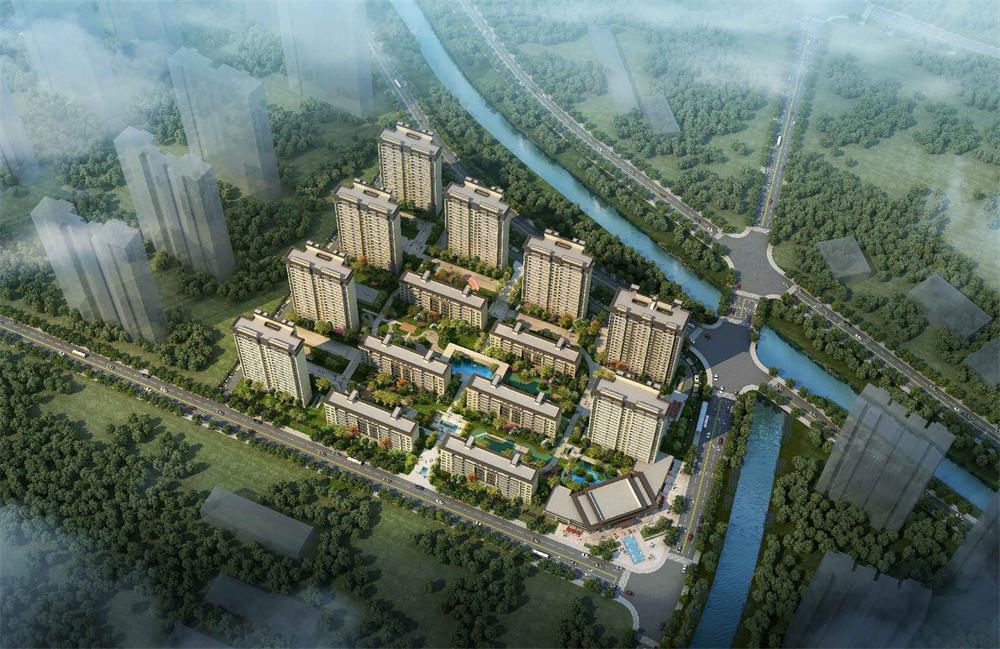 美的环华物流地块:将建8栋20层住宅、6栋6-8层洋房