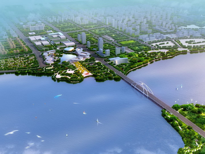 金坛开建钱资湖大桥 预计2020年5月竣工