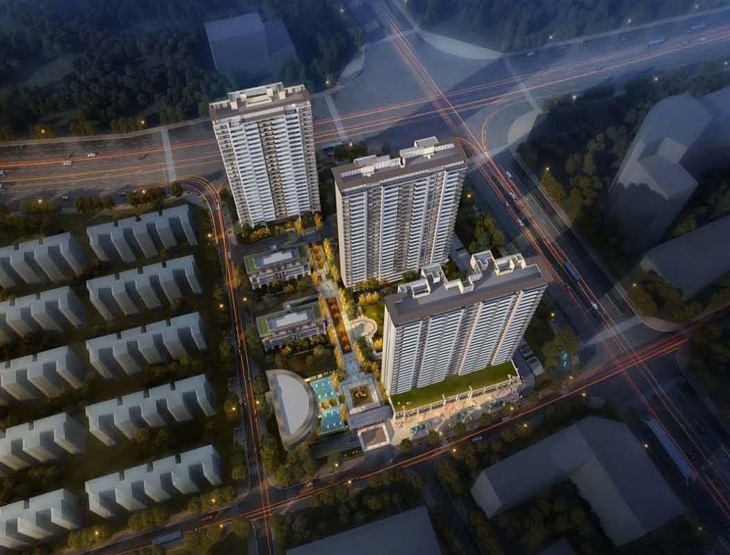 牡丹和府规划:将建5栋住宅、1栋办公楼