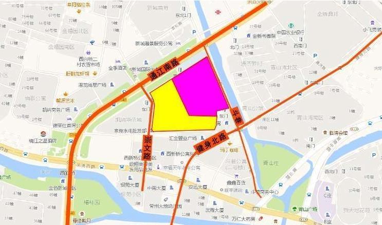 晋陵文锦位置图