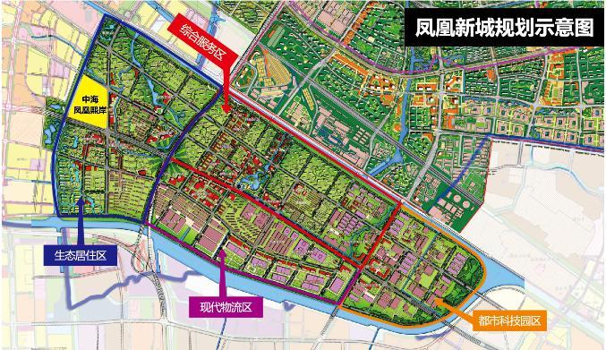 凤凰新城强势崛起,商业经营未来可期