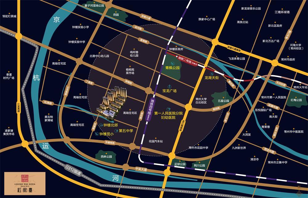 中南红熙台位置图