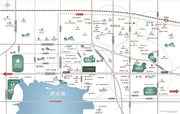 碧桂园・都市森林位置图