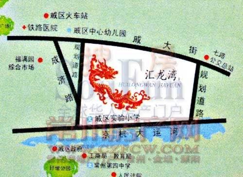 园城汇龙湾位置图