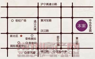 香树湾福园位置图